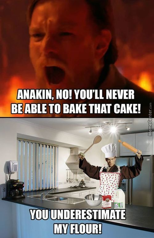 I Have A Bad Feeling About This Cake...