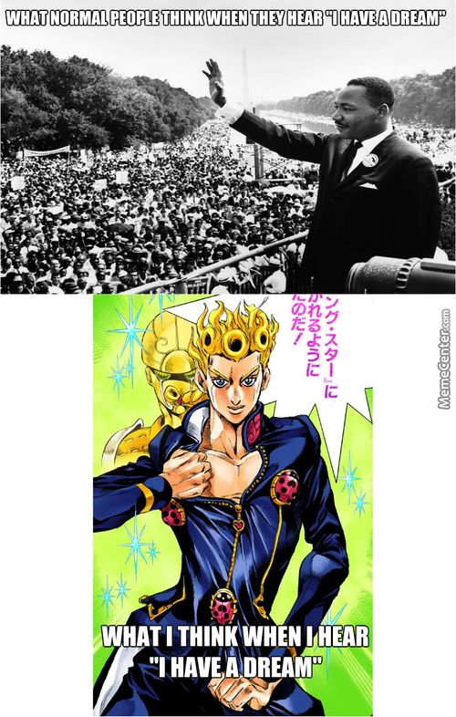 I Have A Dream For Jojo Fans