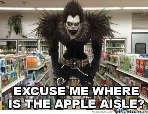 I Heard You Like Apples