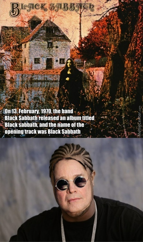 I Heard You Like Black Sabbath