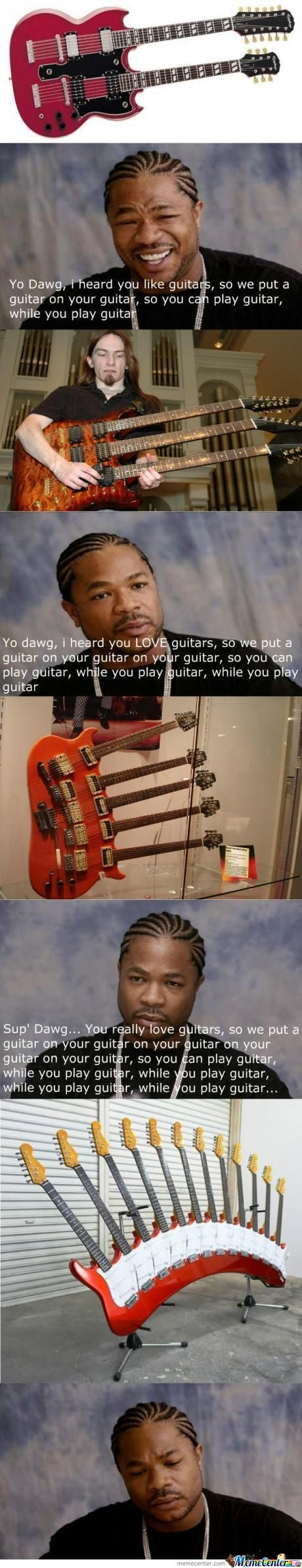 I Heard You Like Guitars