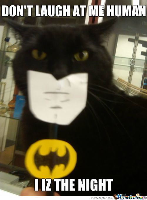 I Iz The Batman