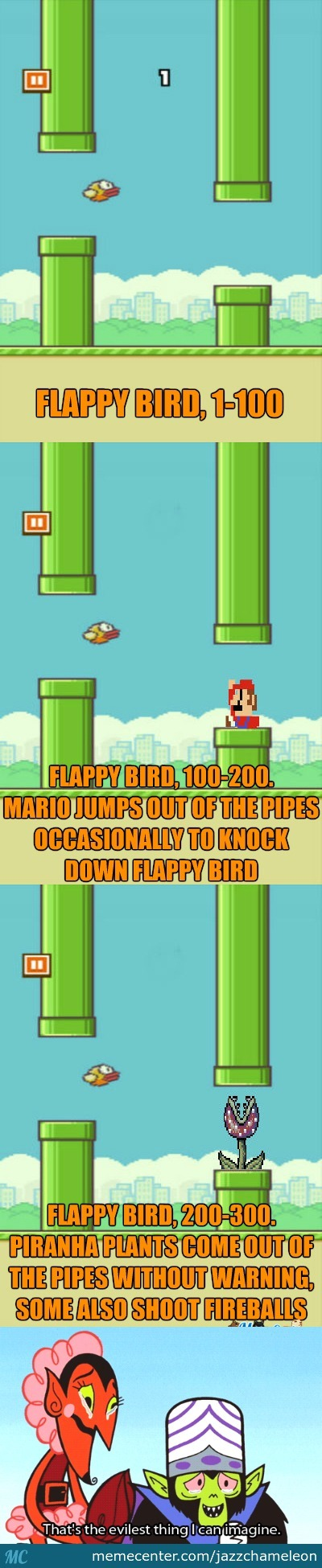 I Just Thought That Flappy Bird Wasn't Hard Enough