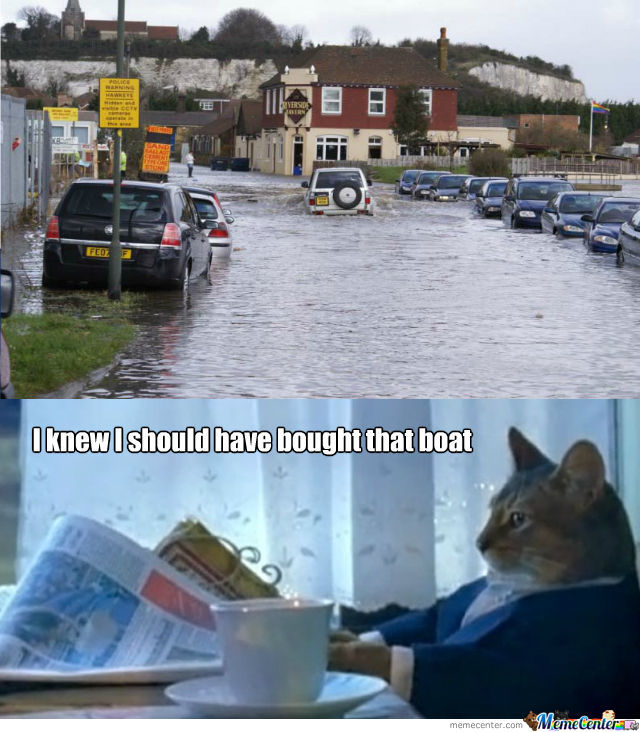 I Knew I Should Have Bought That Boat