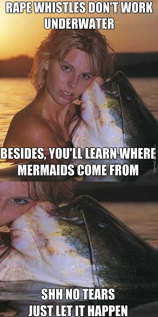 I Know How Mermaids Mate With People