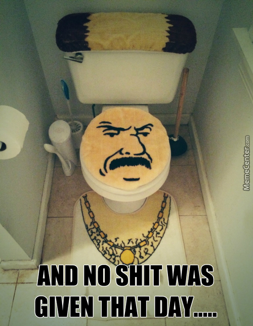 I´m Not Regular Toilet