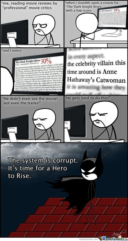 I Miss The Dark Knight Movies :(