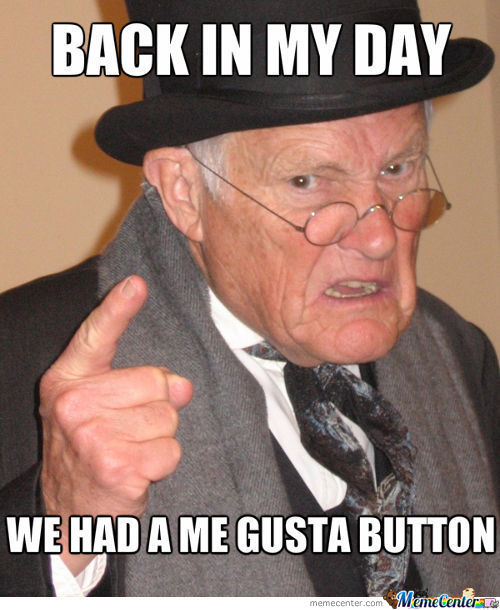 I Miss You Me Gusta Button