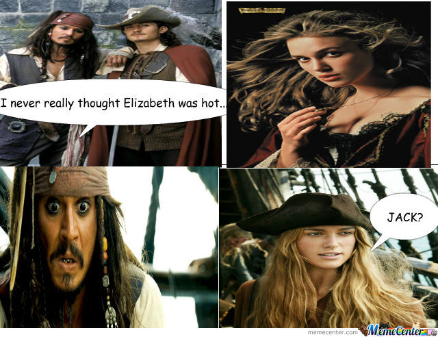 I Never Thought Elizabeth Was Hot..