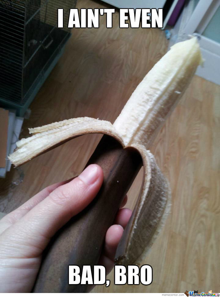 I Opened A Disgusting Banana, And...