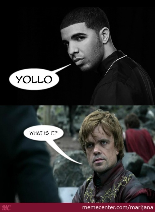 I Realise It's Yolo But I Changed It A Bit For The Sake Of The Joke