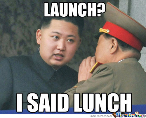 I Said Lunch... Idiot!