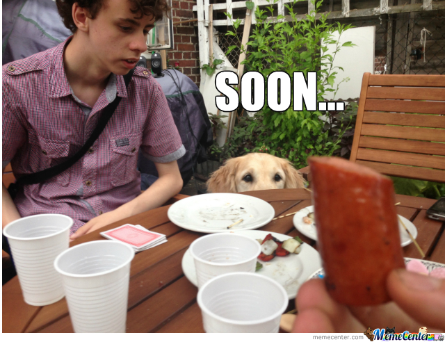 I Shall Have The Hotdog...soon...