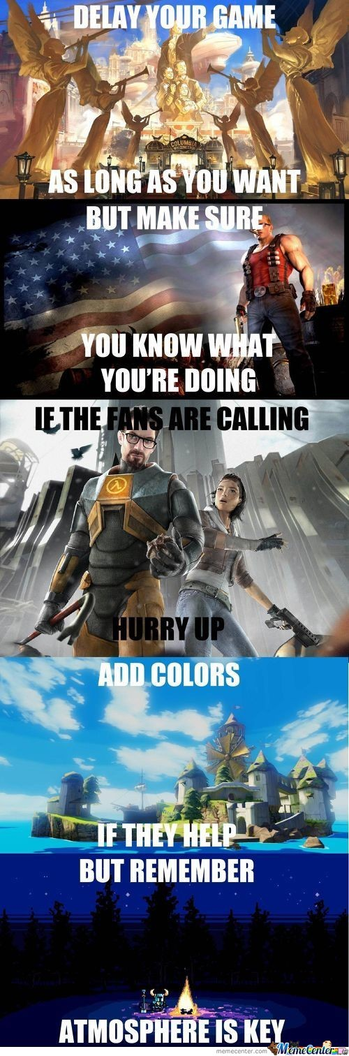 To Game Companies