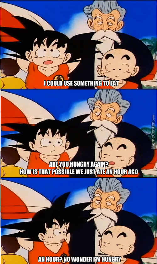 I Think Goku Is From 'murica