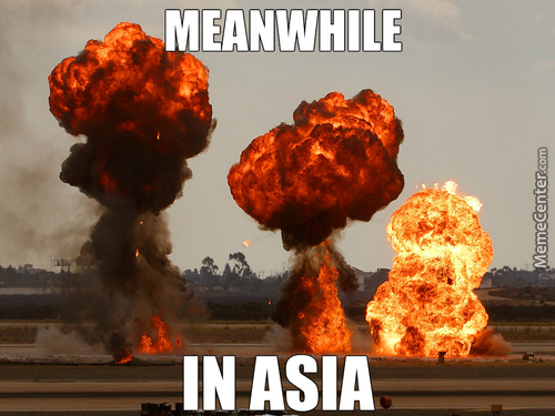I Think Michael Bay Became President Of Both China And Japan, Explains All The Explosions