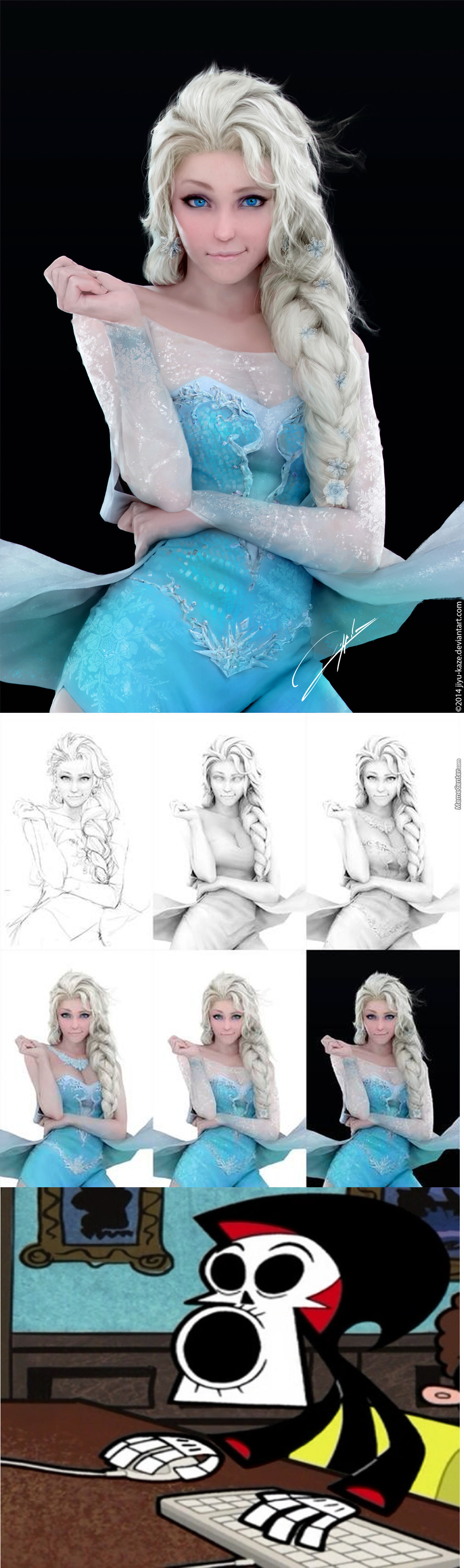 I Thought It Was A Cosplayer But This Simply Amazing.. I'll Take 20