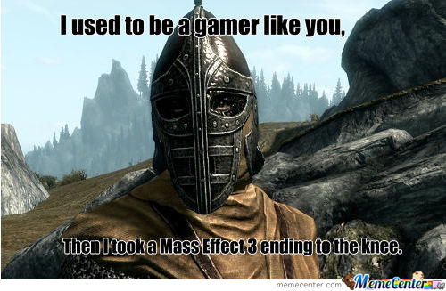 I Used To Be A Gamer Like You...
