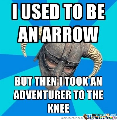 i used to be an arrow
