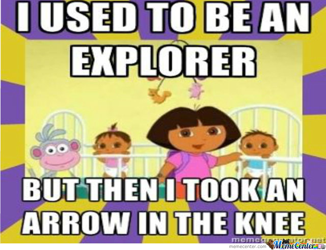 I Used To Be An Explorer Like You.