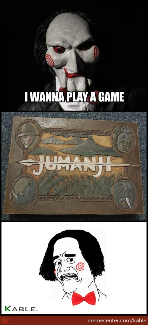 I Wanna Play A Game
