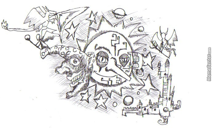 I Was Bored So I Started To Draw Crazy Things 14 By Elguru