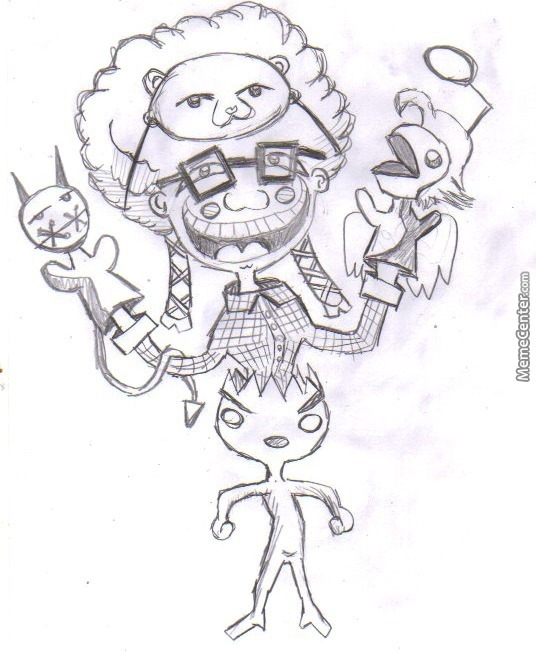 I was bored so i started to draw crazy things 23 by elguru for Crazy stuff to draw