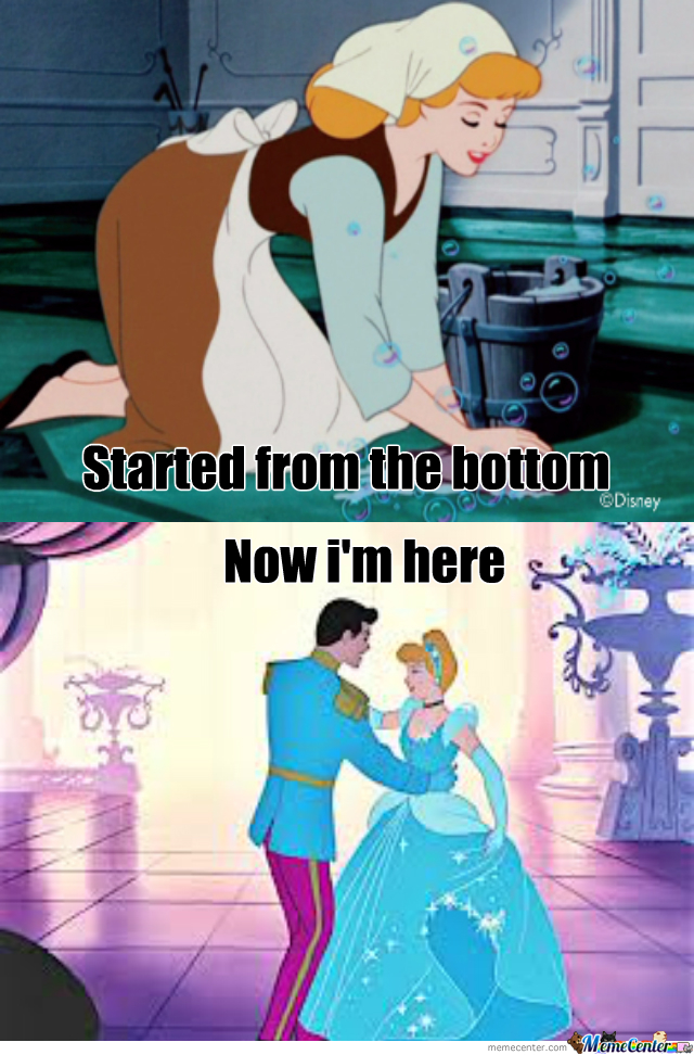 I Was Watching Cinderella When I Noticed Something