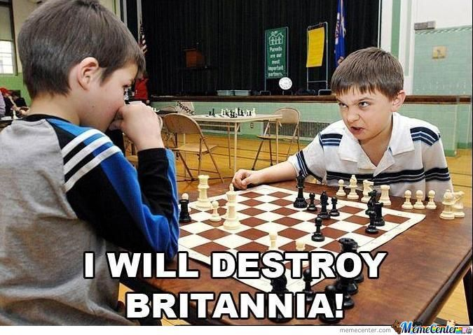 I Will Destroy Britannia