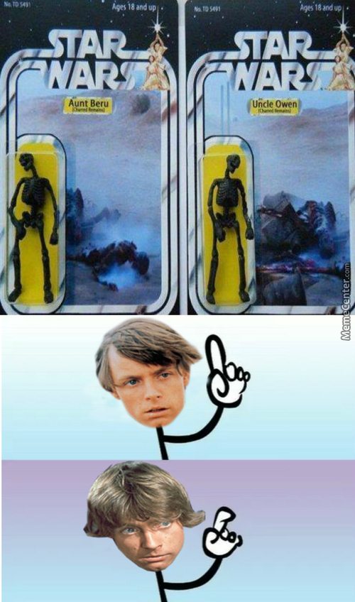 I Will Miss Aunt Beru's Blue Milk The Most