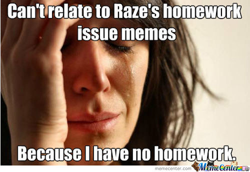 I Wish I Actually Had This Problem...