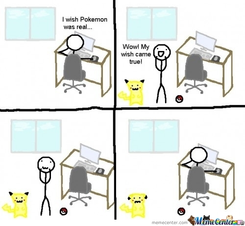 I Wish Pokemon Was Real...