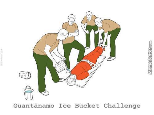 Ice Bucket Challenge - Level Guantánamo