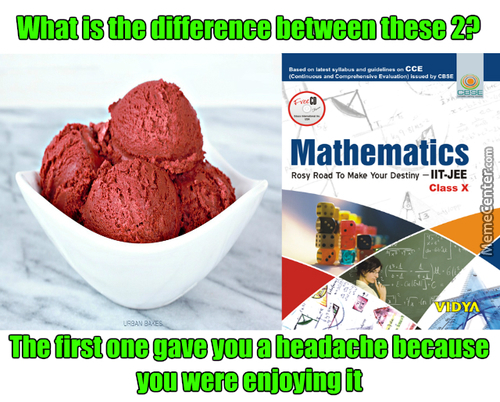 Ice Cream And Math