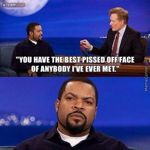 Ice Cube Goes In With No Vaseline