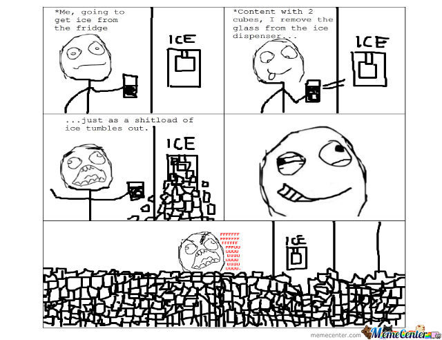 Ice Dispenser Rage