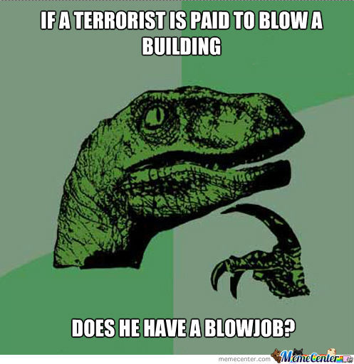 If A Terrorist Is Paid...