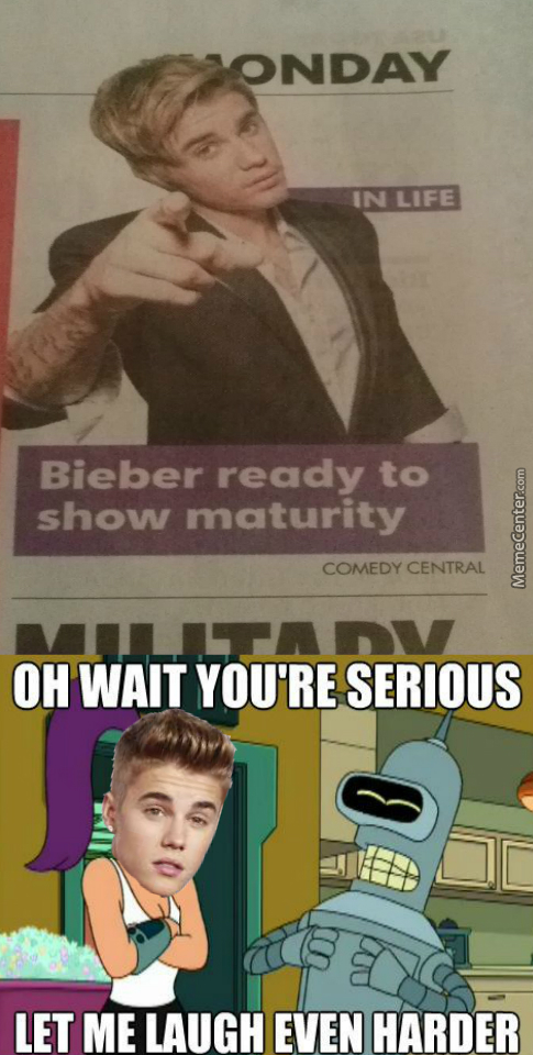 If Anyone Actually Likes Bieber As A Human Being At This Point, Then I Don't Know What To Say.