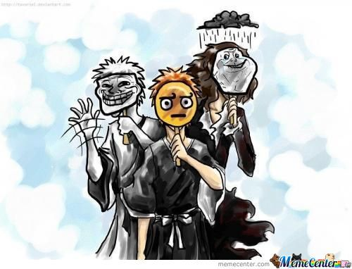 If Bleach Were Memes