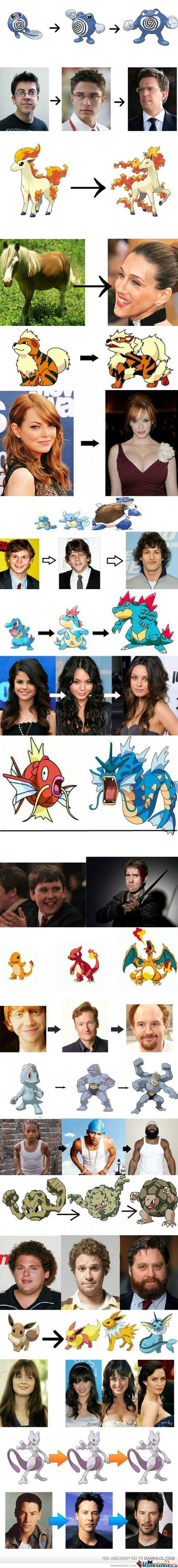If Celebrities Evolved