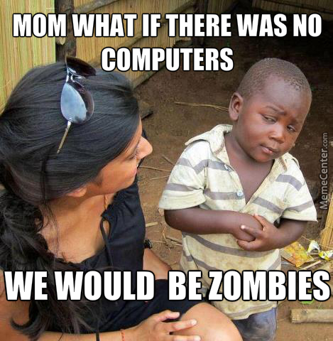 If Computers Didn't Exist