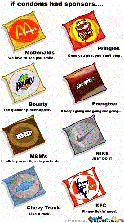 If Condoms Have Sponsors