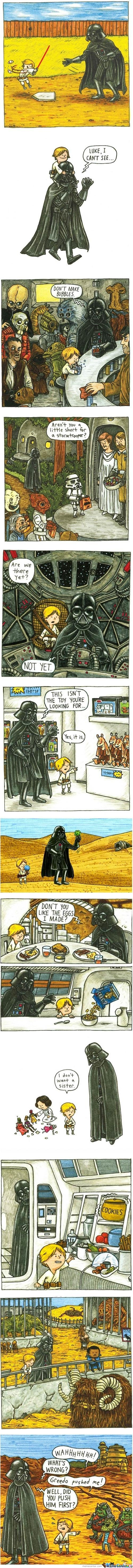 If Darth Vader Had Been A Good Father