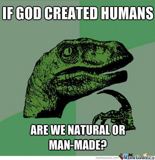 If God Created Humans