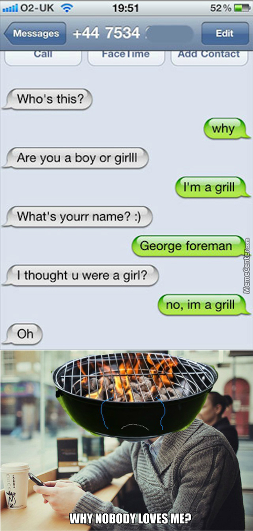 If Grill Will Be A Gender, Feminist Will Get Offended?