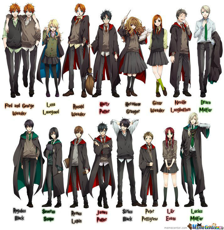 If Harry Potter Was An Anime? How About Yes!!