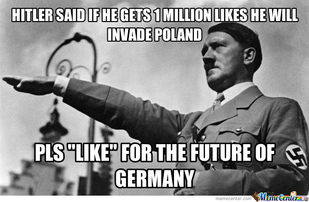 If Hitler Had Facebook
