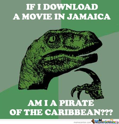 If I download a movie in Jamaica