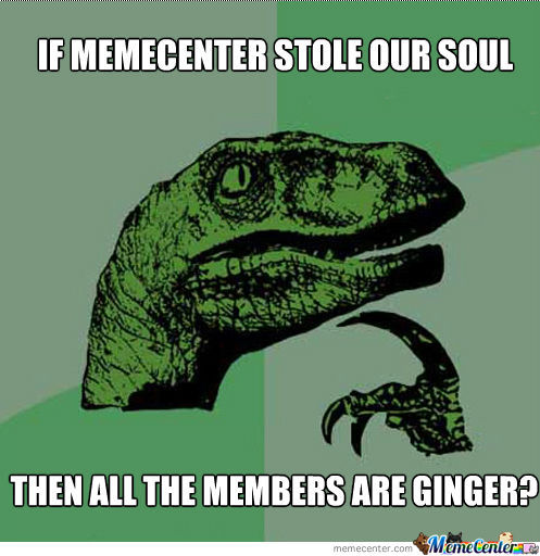 If Memecenter Stole Our Soul...