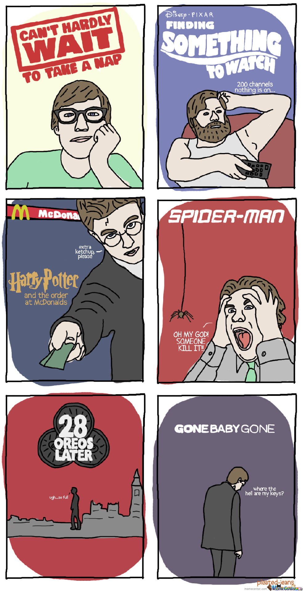 If Popular Movies Were About My Life